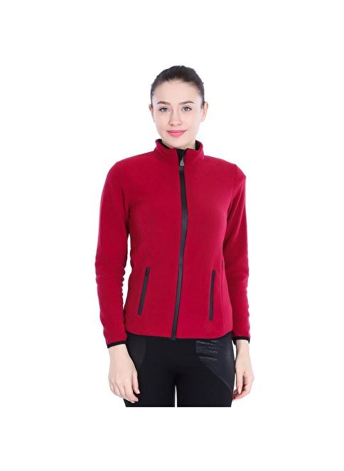Sportive Polar Sweatshirt Kırmızı